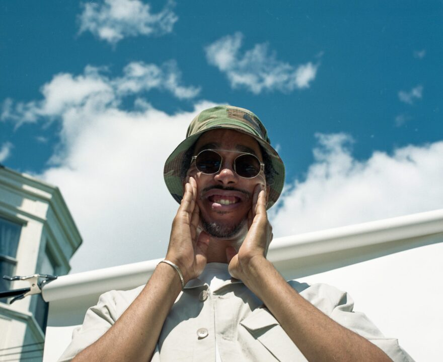 """Rapper and producer Oddisee grew up in and around Washington, D.C. His latest release is called """"Odd Cure."""""""