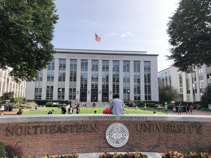 At Northeastern University, 11 students were caught hanging out together in one room, in violation of bans on having guests in campus housing and on participating in crowded gatherings. They were all kicked off campus and out of their program for the semester.