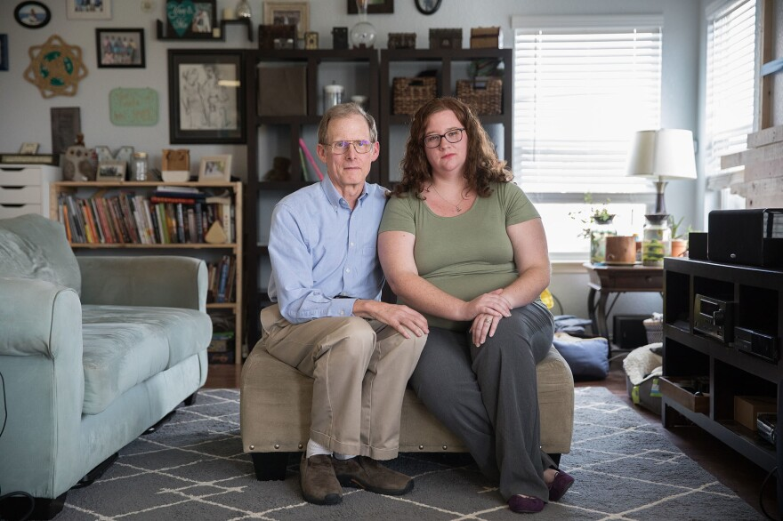 Liz Moreno thought she was done paying for her back surgery in 2015 until a $17,800 bill for a urine drug test showed up nine months later. Her father, Paul Davis, a retired doctor from Ohio, settled the bill with the company for $5,000 to protect Liz's credit rating.