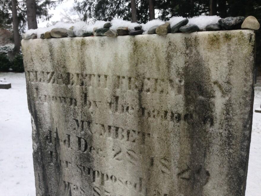 Elizabeth Freeman is buried in the Sedgwick family plot in the Stockbridge, Mass., cemetery.