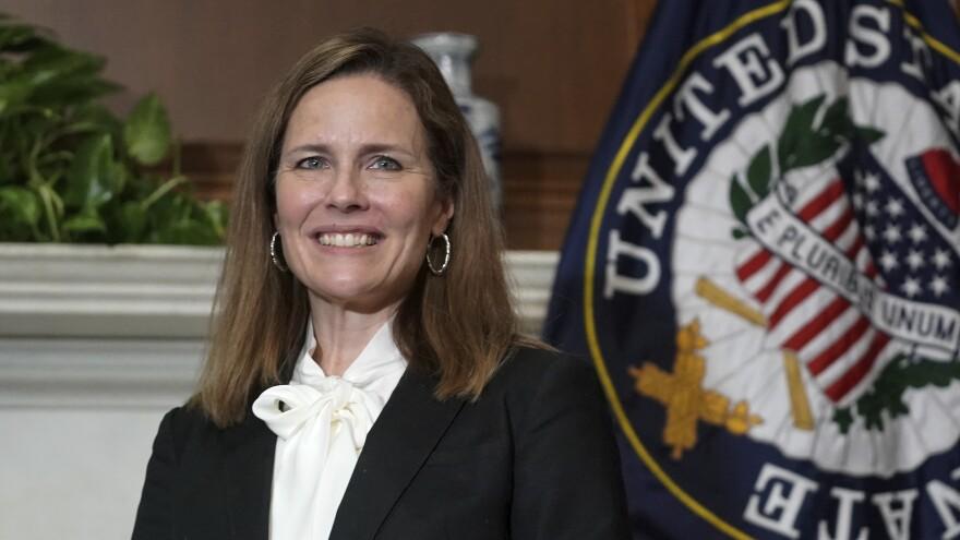 Judge Amy Coney Barrett tested negative for the coronavirus.