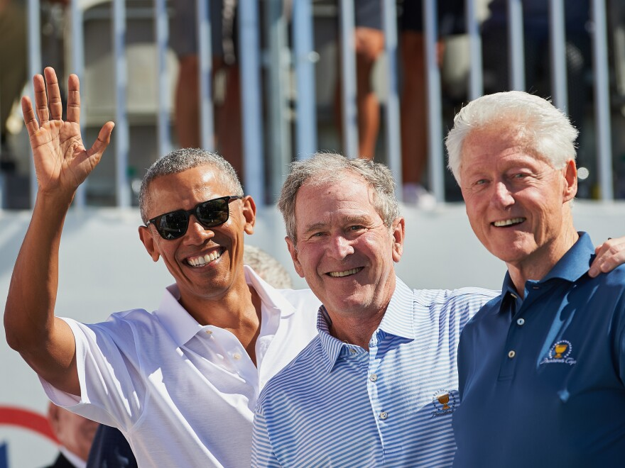 Presidents Obama, George W. Bush, and Bill Clinton volunteered to take the coronavirus vaccine, once it's available, on camera to assuage concerns about the shot.