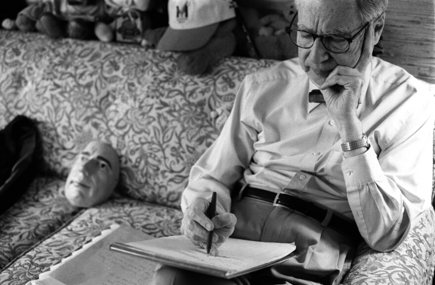 In Fred's office at WQED in Pittsburgh, he spent a good deal of time studying, writing and corresponding with dozens of people, including parents and children, who reached out to him.