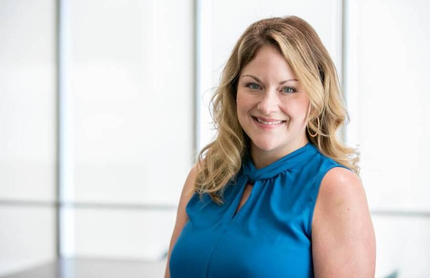 Jennifer Ferguson headshot. Belleville's new public relations and communications specialist. Oct 1, 2019