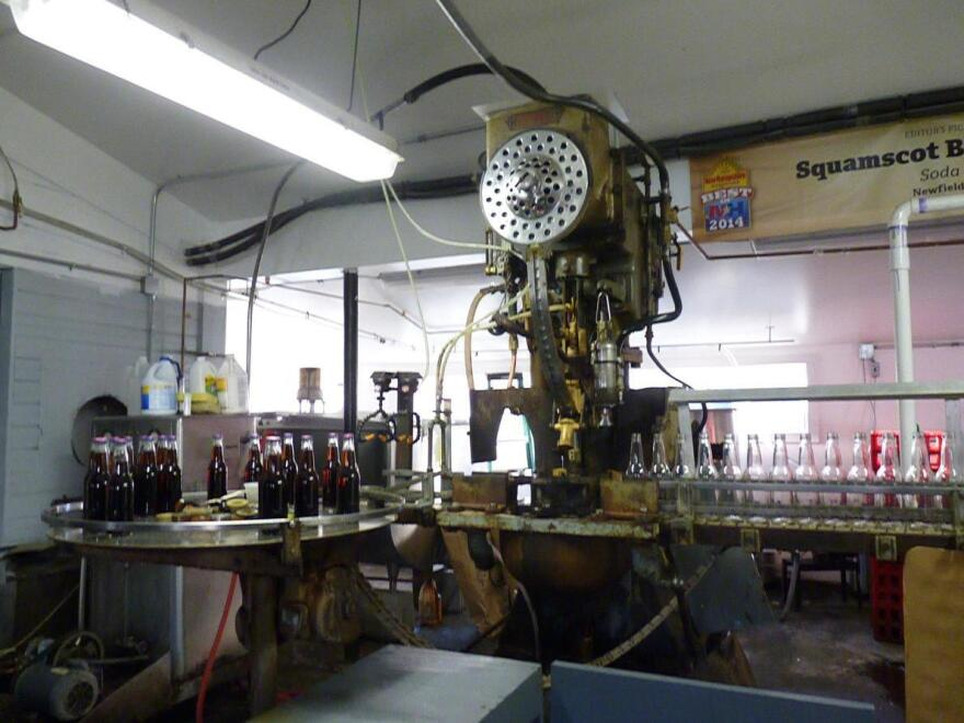 "The ""Dixie,"" purchased from a Baltimore supplier in 1938 for $2,400, is still the only bottler Squamscot uses."