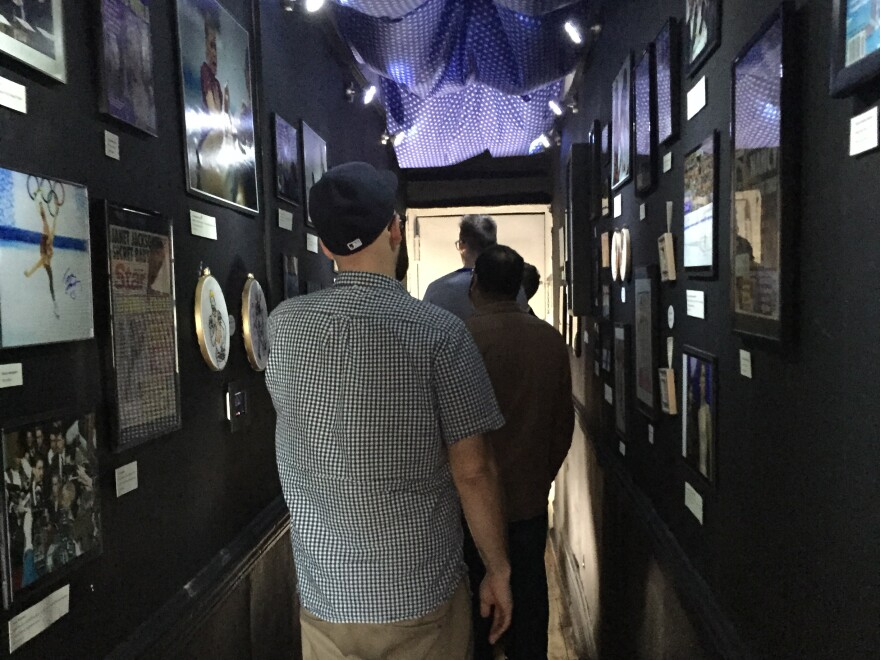 """""""It is a very real museum with very real artifacts in a very long hallway that would have just been wasted space,"""" the museum web site explains."""