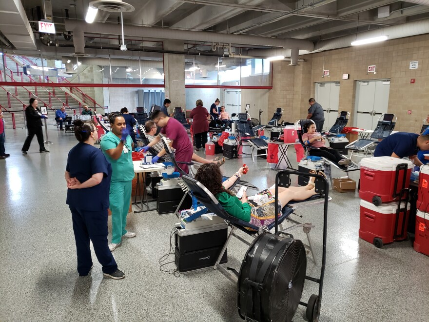 A three-day blood drive at the Alamodome hopes to end a critical blood shortage in San Antonio.