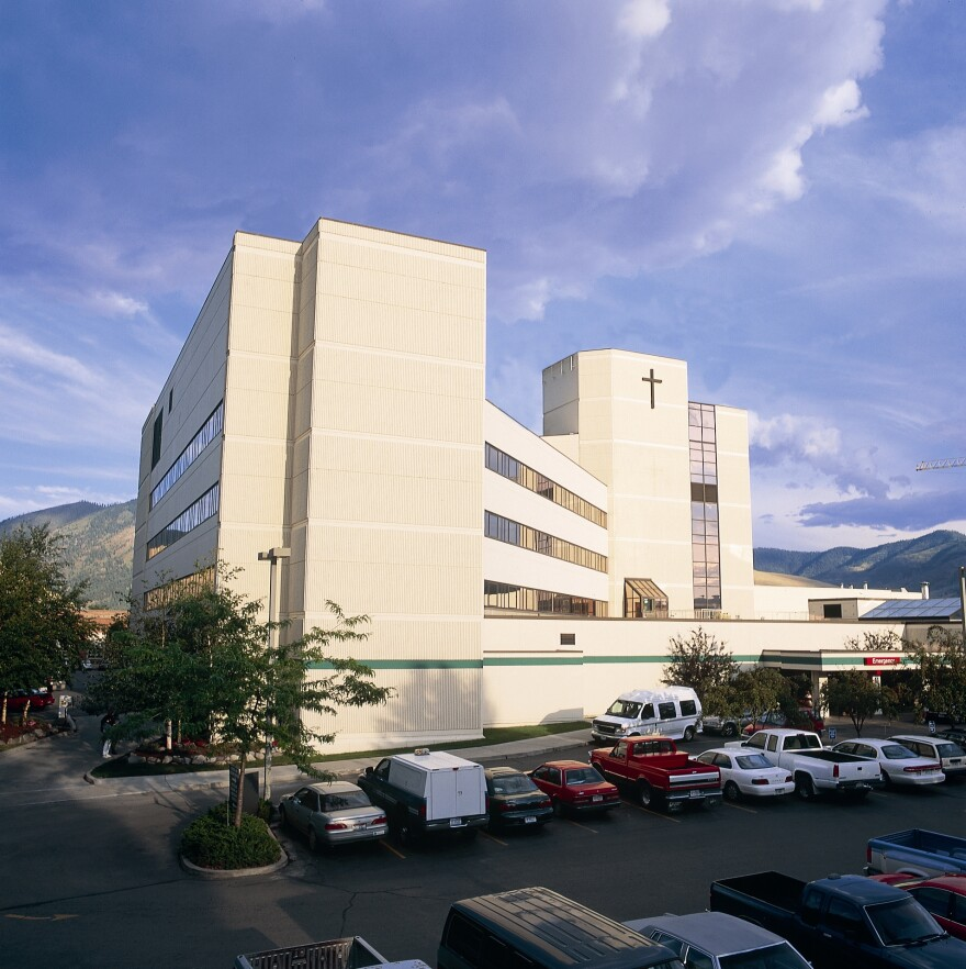St. Patrick Hospital in Missoula.