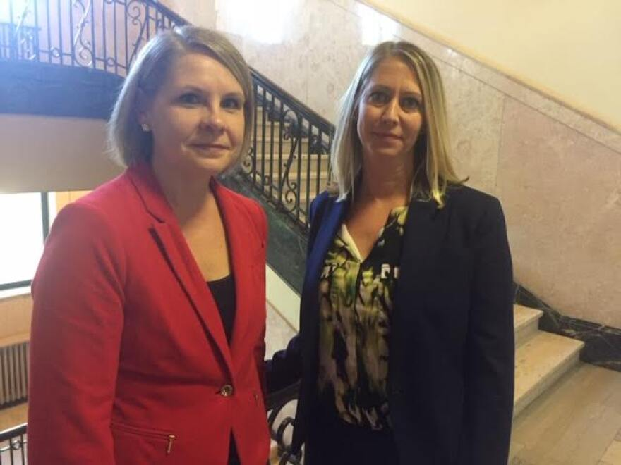 Mecklenburg County Assistant District Attorneys Kristen Northrup, left, and Donna Rainwater.