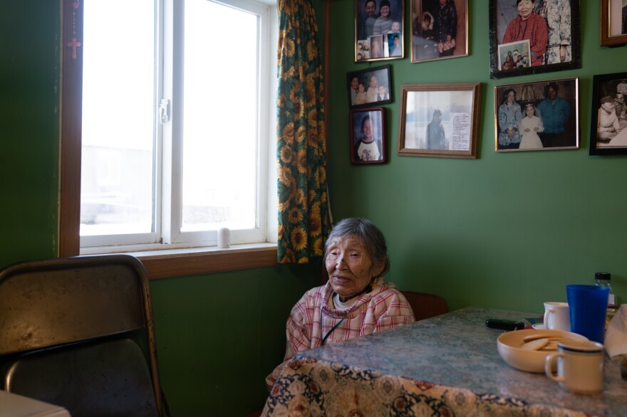 Lizzie Chimiugak Nenguryarr, an elder of Toksook Bay who recently celebrated what she considered to be at least her 90th birthday, was the first person counted for the 2020 census.