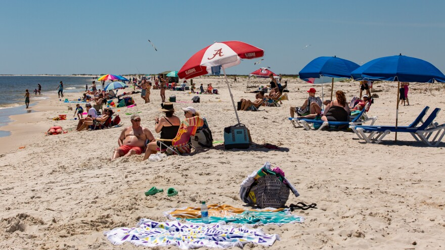 Alabama opened public beaches on May 1. Gov. Kay Ivey is letting casinos, museums, zoos and amusement parks open Friday afternoon.