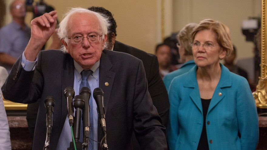 Both Democratic Sens. Bernie Sanders of Vermont and Elizabeth Warren of Massachusetts have already given major foreign-policy addresses ahead of possible presidential runs in 2020.