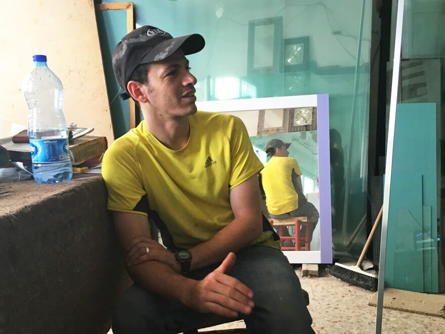 Mohannad Samara, a self-described Islamist, says young people are frustrated with a lack of voice in the Palestinian political process. He fears Hamas and other Islamist groups — and their young voters — won't be allowed to fully participate in the Palestinian elections scheduled for Oct. 8.