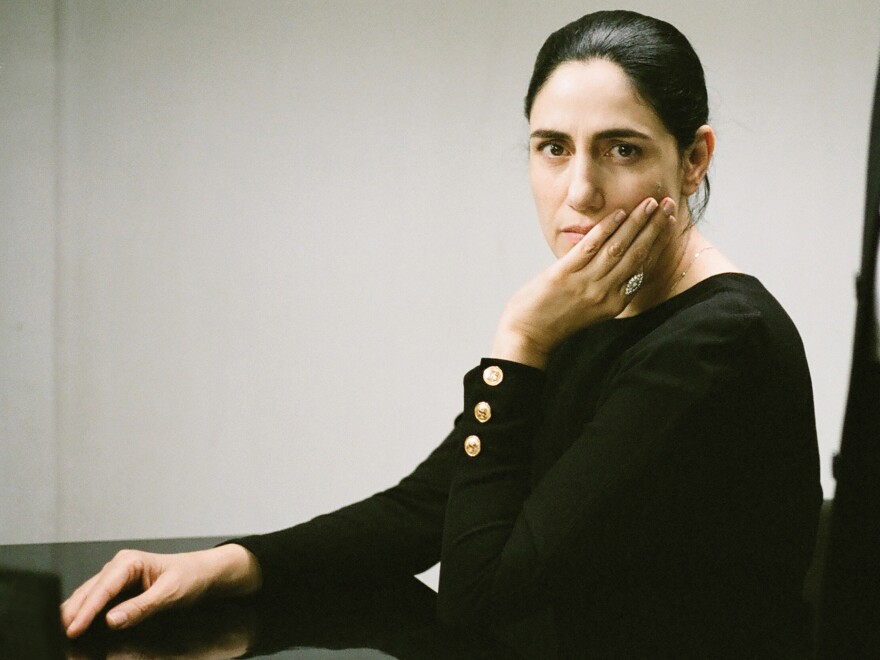 "Ronit Elkabetz co-directed the film and plays the lead role. ""How come a woman's freedom is at the mercy of her husband?"" she asks."