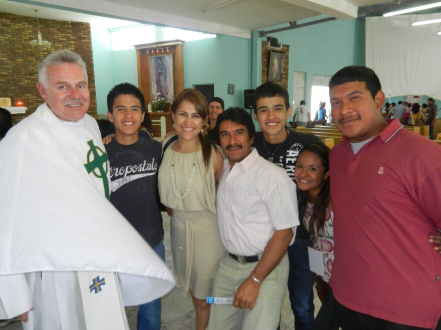 Although fearful of the violence in Juarez, Australian-born Mullins says he stayed to bear witness to the suffering in his parish.