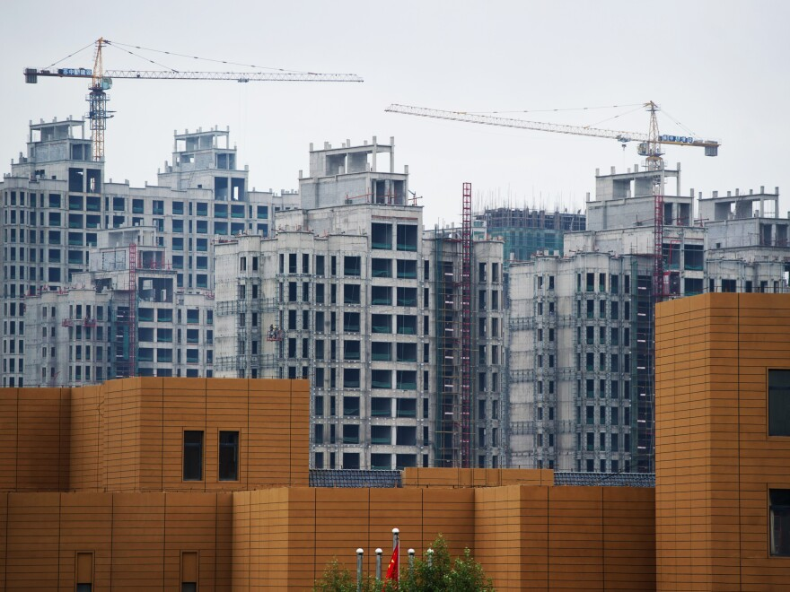 Construction of Ordos in Mongolia was completed in 2010. It was designed to house a million people — but residents didn't come.