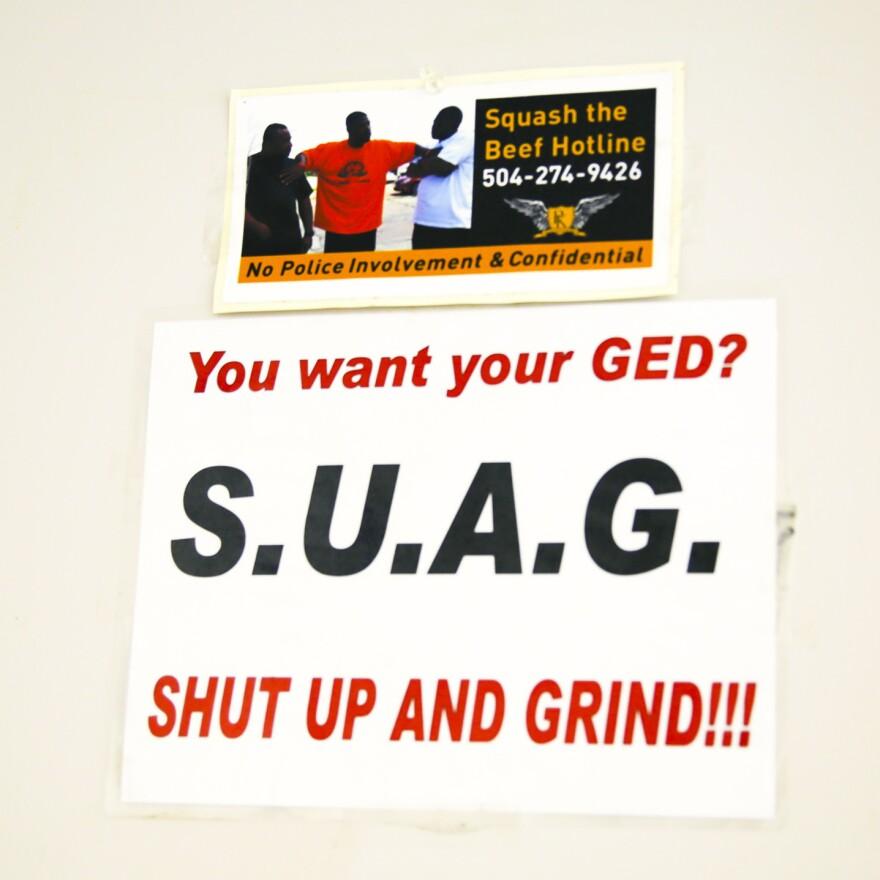 Rodney Carey's motto: S.U.A.G.