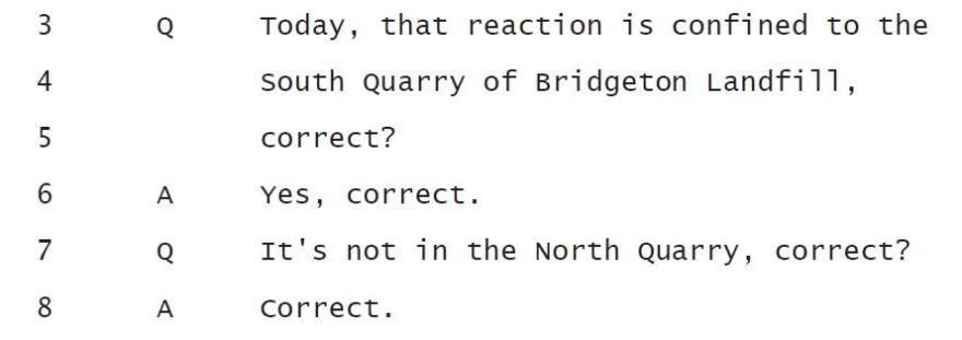 Sperling Oct. 15 deposition, draft transcript, p.187.