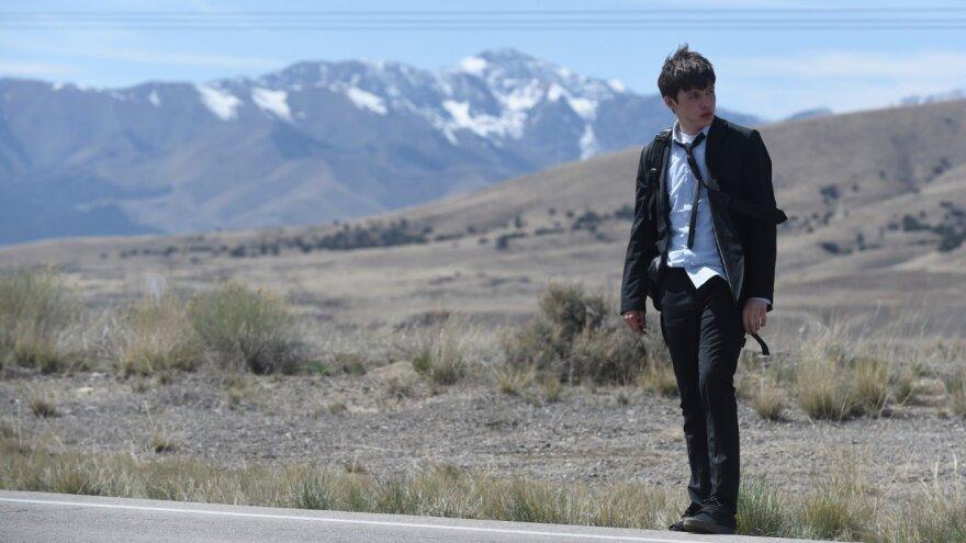 Nick Robinson in <em>Being Charlie</em>.