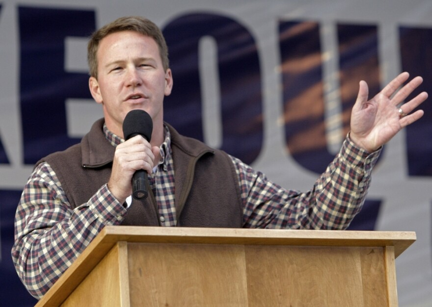 """Ohio Secretary of State Jon Husted says that both parties need to """"tone it down."""" The Republican says he doesn't believe you need to have a voter ID to """"provide for voter security."""""""