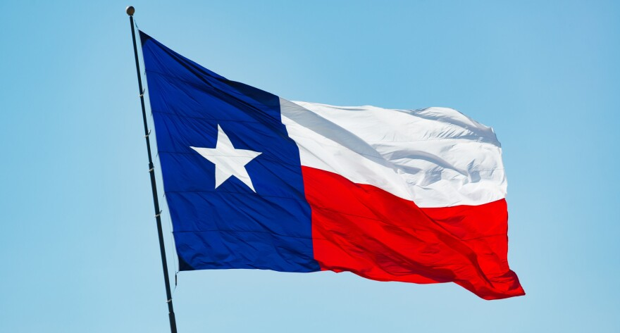 the texas state flag