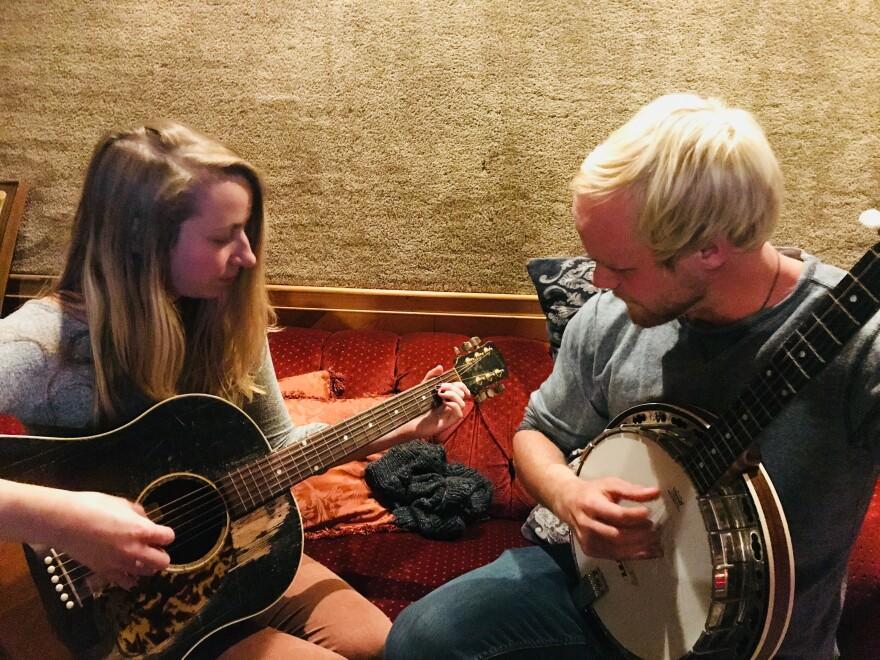 photo of Bethany Svoboda and Dan Socha