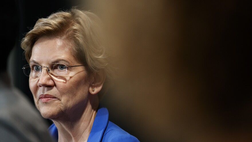 """""""The chaos and the attempt to suppress the vote in Wisconsin should be a wake-up call for the United States Congress,"""" Sen. Elizabeth Warren told NPR. """"We need to act immediately."""""""