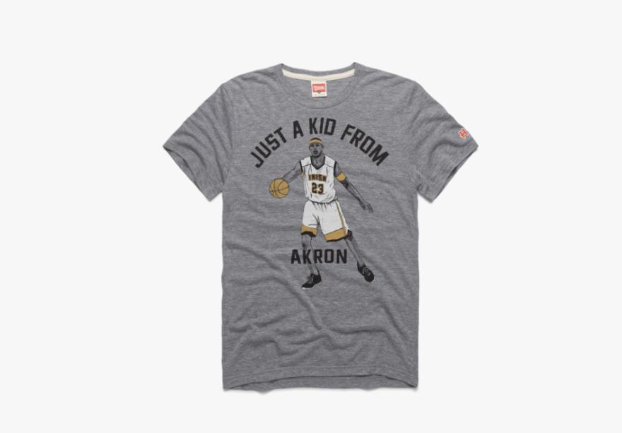 photo of LeBron shirt