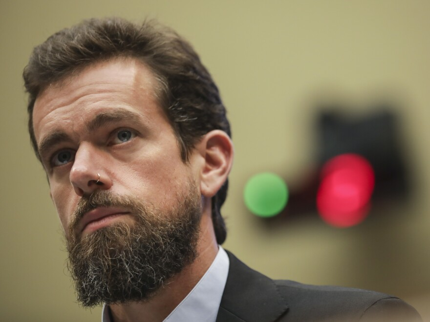 Twitter CEO Jack Dorsey said on Wednesday that he believes tech companies that banned President Trump from various social media platforms was a move that sets a dangerous precedent for a free Internet.