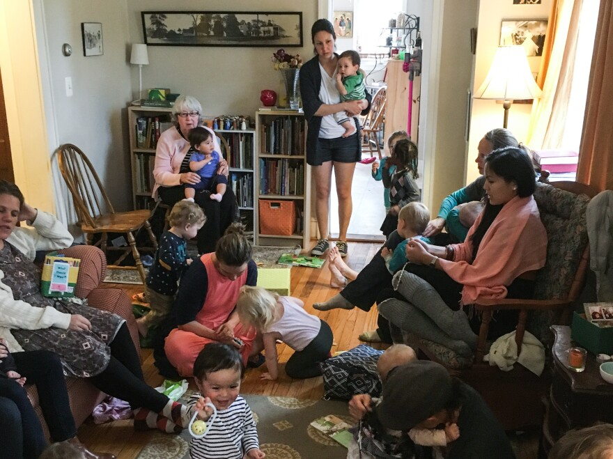 About a dozen Catholic women in Hyattsville gather each week to pray the rosary together.