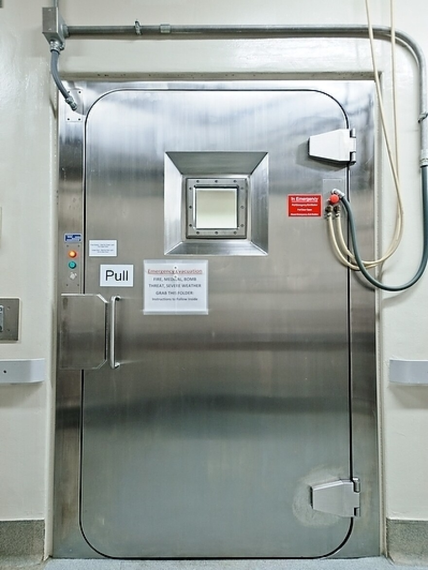Research on the H5N1 virus is conducted in high-containment laboratories with airlock systems that make sure nothing can escape.