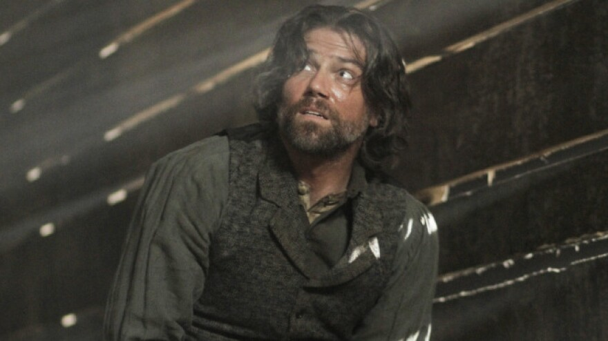 Cullen Bohannon (Anson Mount) owns slaves on AMC's <em>Hell On Wheels</em>. But the guys he's chasing are worse.