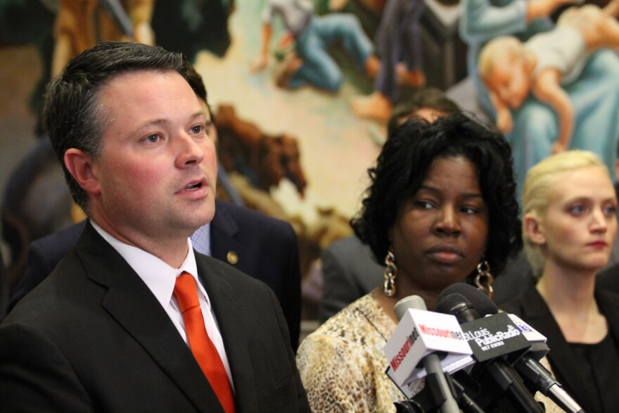 House Minority Leader Jacob Hummel, D-St. Louis, decried legislation that he said preyed on the poor. 2015