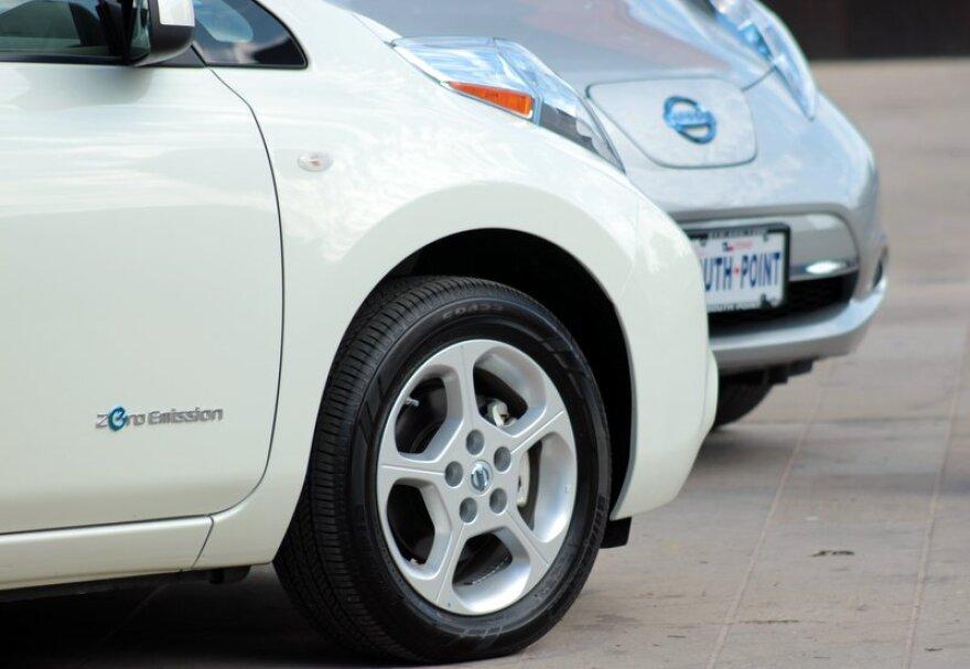 Electric Vehicle Conference at UT's Blanton Austin 2.JPG