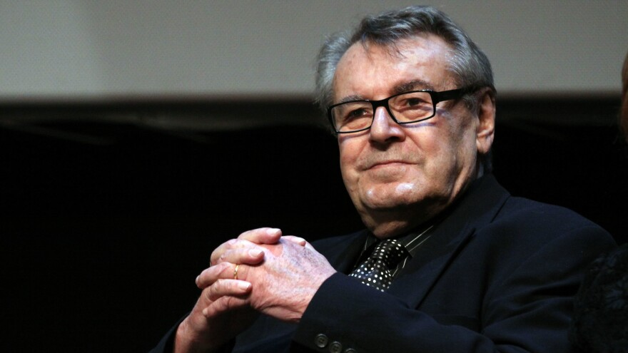 Milos Forman at the International Rome Film Festival in Rome in 2009. He died at age 86 in Connecticut.