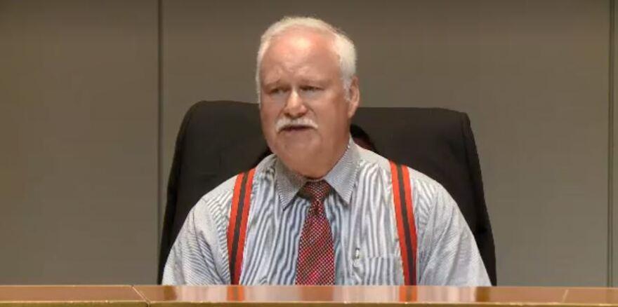 Jim Puckett sits on the Huntersville Educational Options Study Commission
