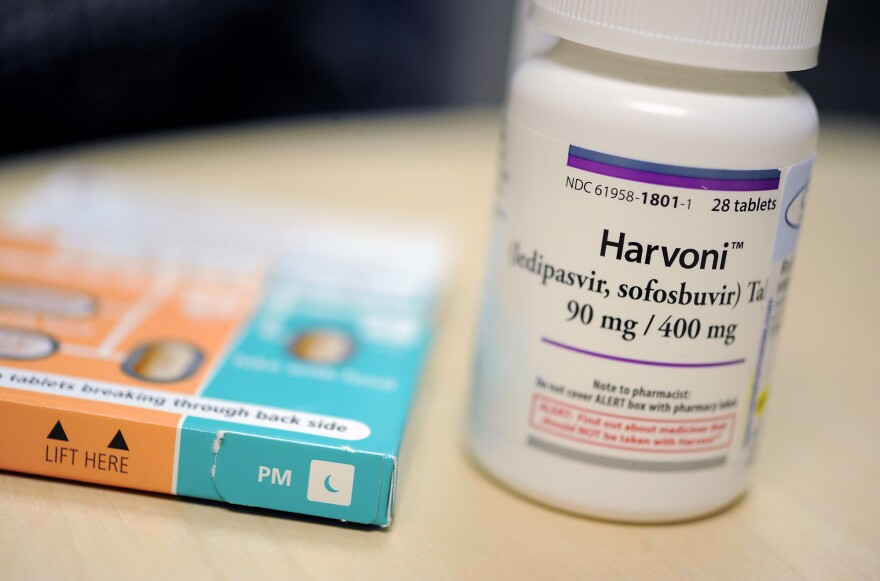 Harvoni is one of the new medications for hepatitis C that can cure almost all infections.