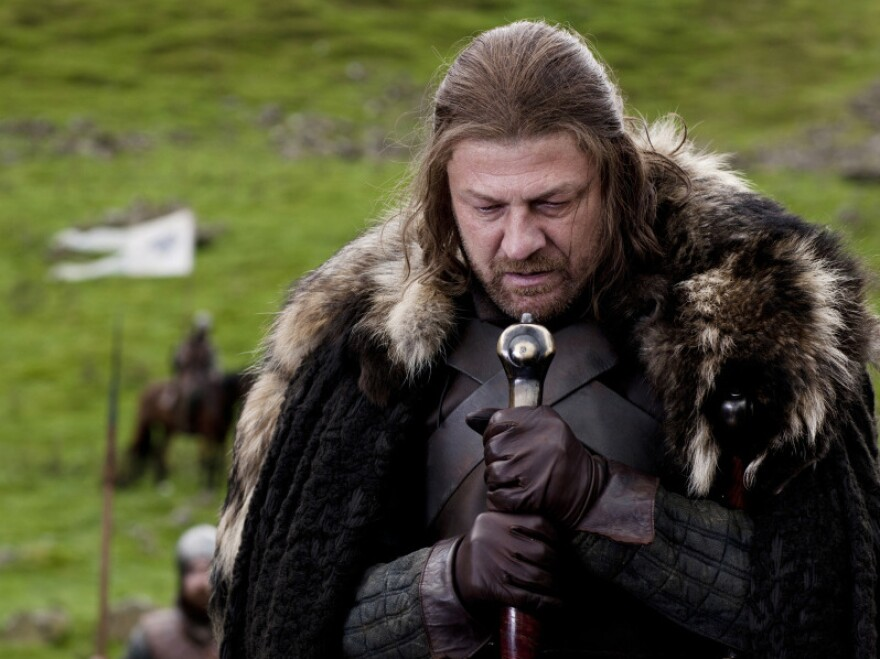 <em>Lord of the Rings</em> star Sean Bean plays Lord Eddard Stark, King Robert Baratheon's right-hand man, in HBO's <em>Game of Thrones</em>.