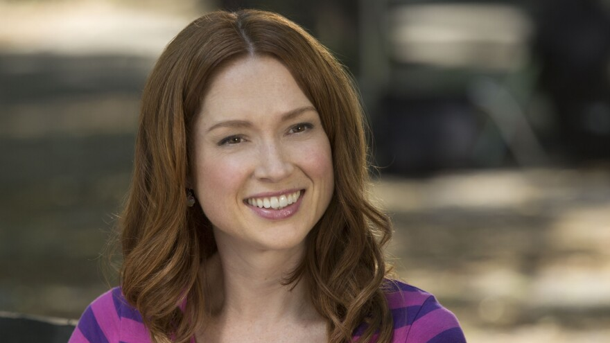 Ellie Kemper plays a woman who was abducted and forced to spend 15 years living in an underground bunker before being rescued in the Netflix series <em>Unbreakable Kimmy Schmidt. </em>Kemper is also known for her role as Erin, the cheerful receptionist on the NBC series <em>The Office.</em>