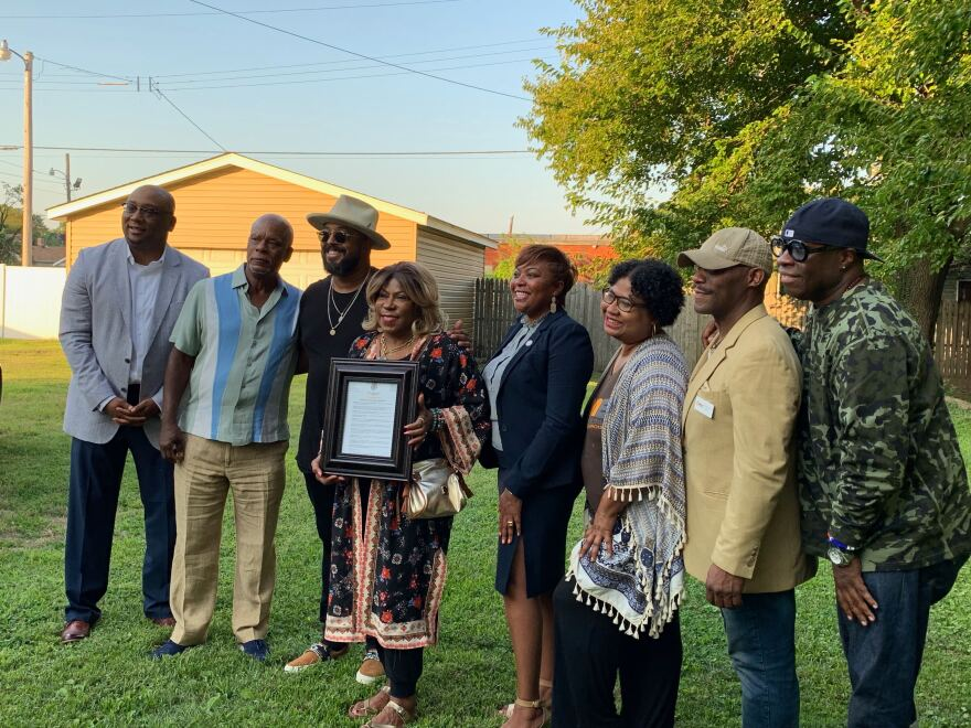 Family of Miles Davis celebrated his life and legacy at his childhood in East St. Louis on Sept. 5, 2019.