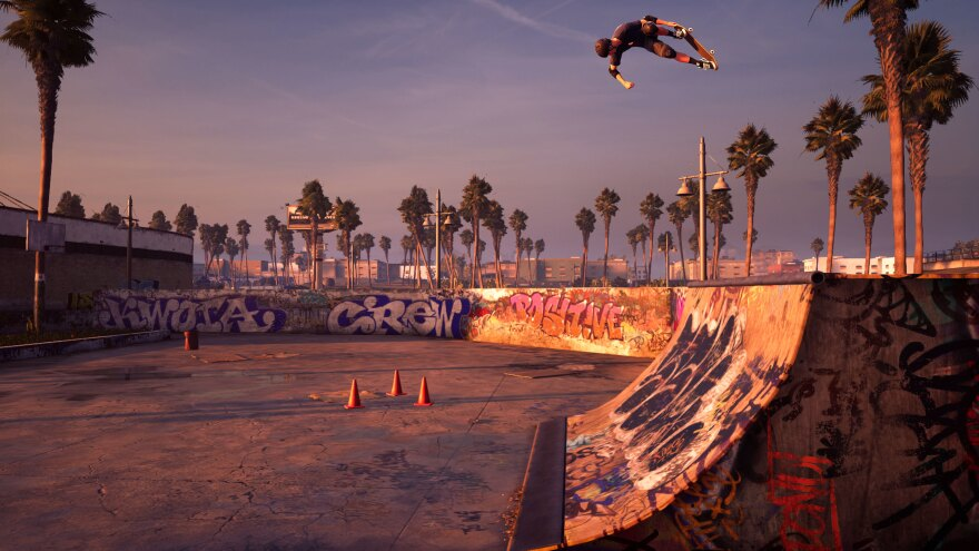 Columnist Kaity Kline says Venice Beach — seen here in its shiny new incarnation — was her favorite part of the original <em>Pro Skater 2.</em>