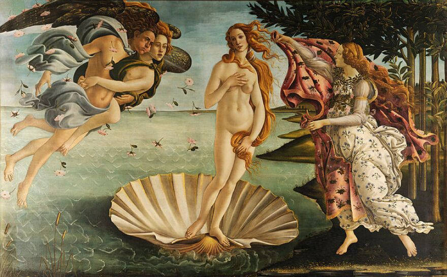 Even in Sandro Botticelli's painting <em>The Birth of Venus, </em>the goddess's belly resembles a plump, firm tortellino.