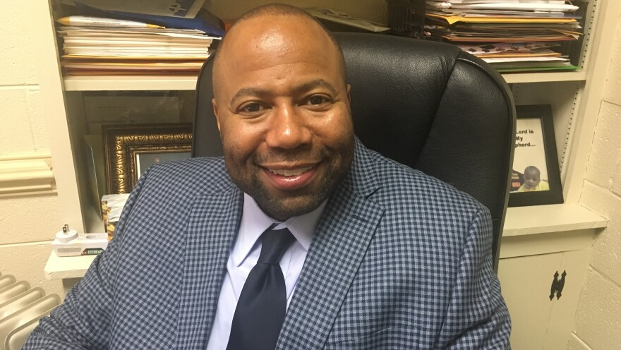 """Pastor Emanuel Harris of Jerusalem Baptist says he finds the photo shocking but isn't ready to call for Gov. Ralph Northam's resignation. """"We all have a past, and we all can be forgiven for our past,"""" he said. """"But the question is, when it comes to leadership, is it your past or is it your present?"""""""