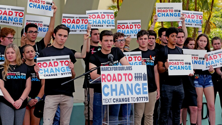 The March For Our Lives movement is hitting the road this summer to register young people to vote ahead of the November mid-term elections.