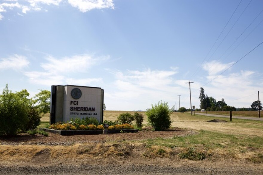 <p>The Federal Correctional Institutional in Sheridan, Oregon.</p>