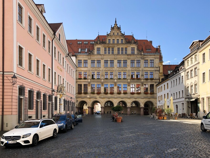 Goerlitz, dating to the Middle Ages, has appeared in movies including Quentin Tarantino's <em>Inglourious Basterds</em> and Wes Anderson's <em>The Grand Budapest Hotel.</em>