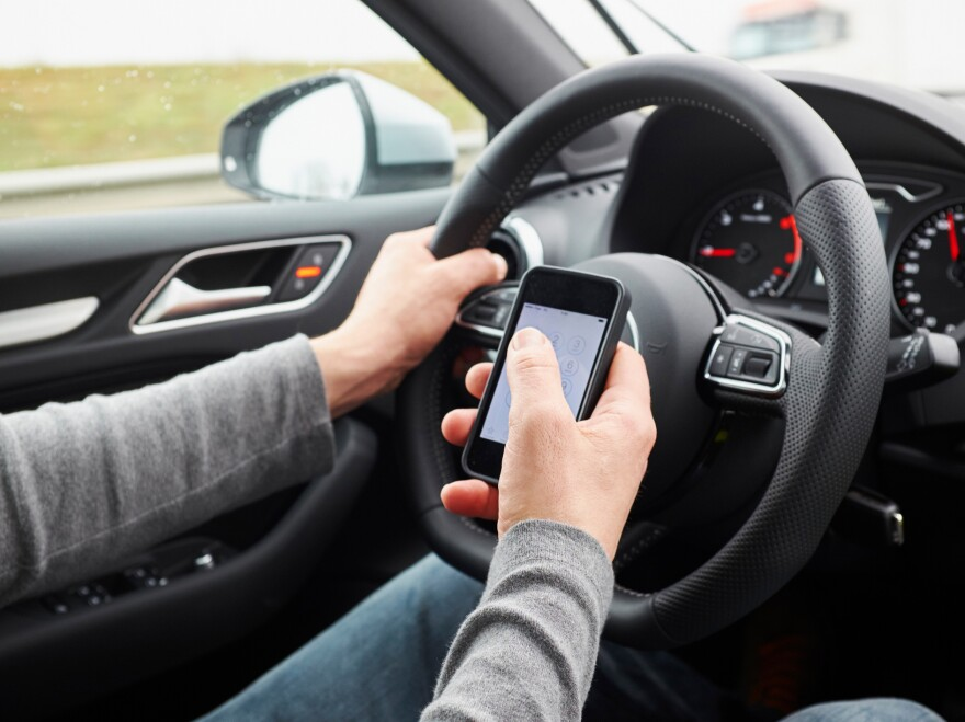 Distracted driving is a growing problem, accounting for at least 12 percent of road crashes worldwide. Young men are more likely to be distracted, a study finds.