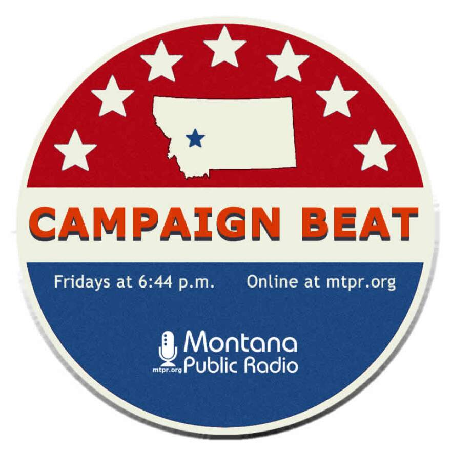 Campaign Beat logo in red, white and blue