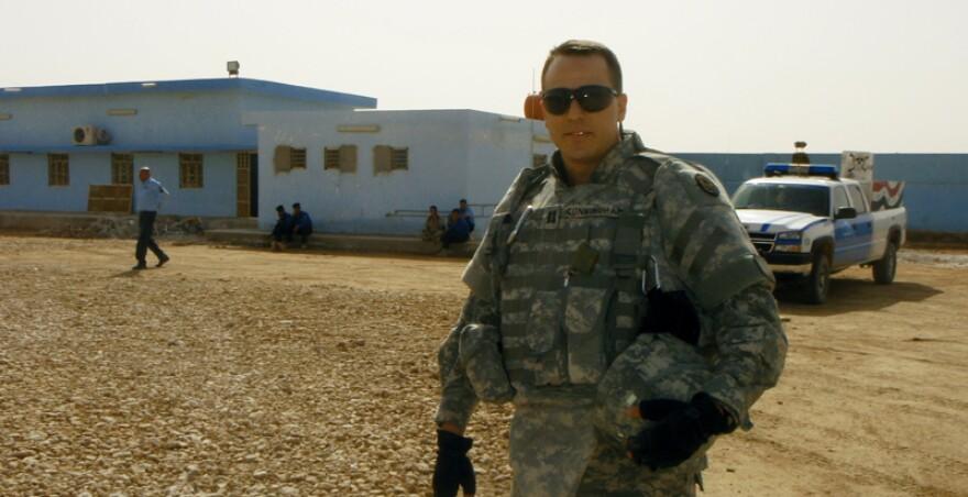 Cal Cunningham Army