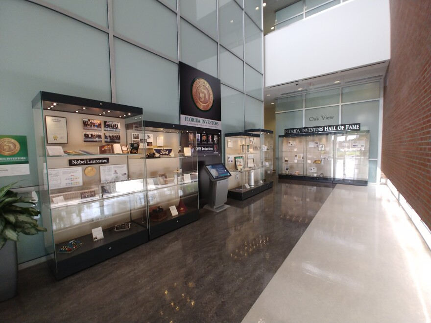 The Florida Inventors Hall of Fame has a collection on display in the Galleria of the USF Research Park.